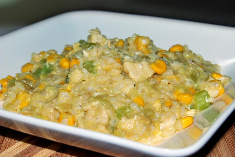 risotto z kurczaka