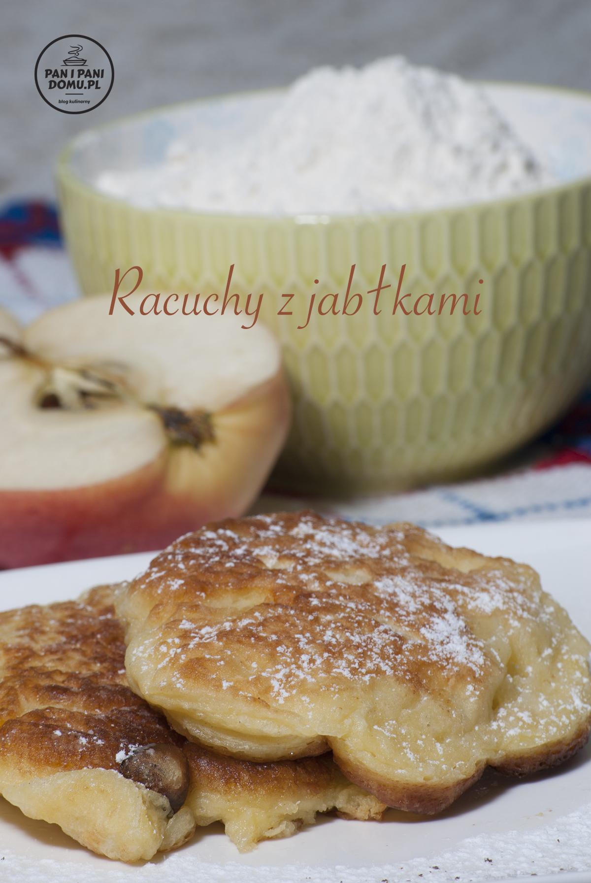 racuchy z jabłkami przepis