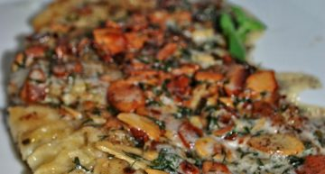 Filet z pstrąga w sosie maślano-koperkowym