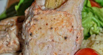 Roladki z piersi z indyka z mini kukurydzą