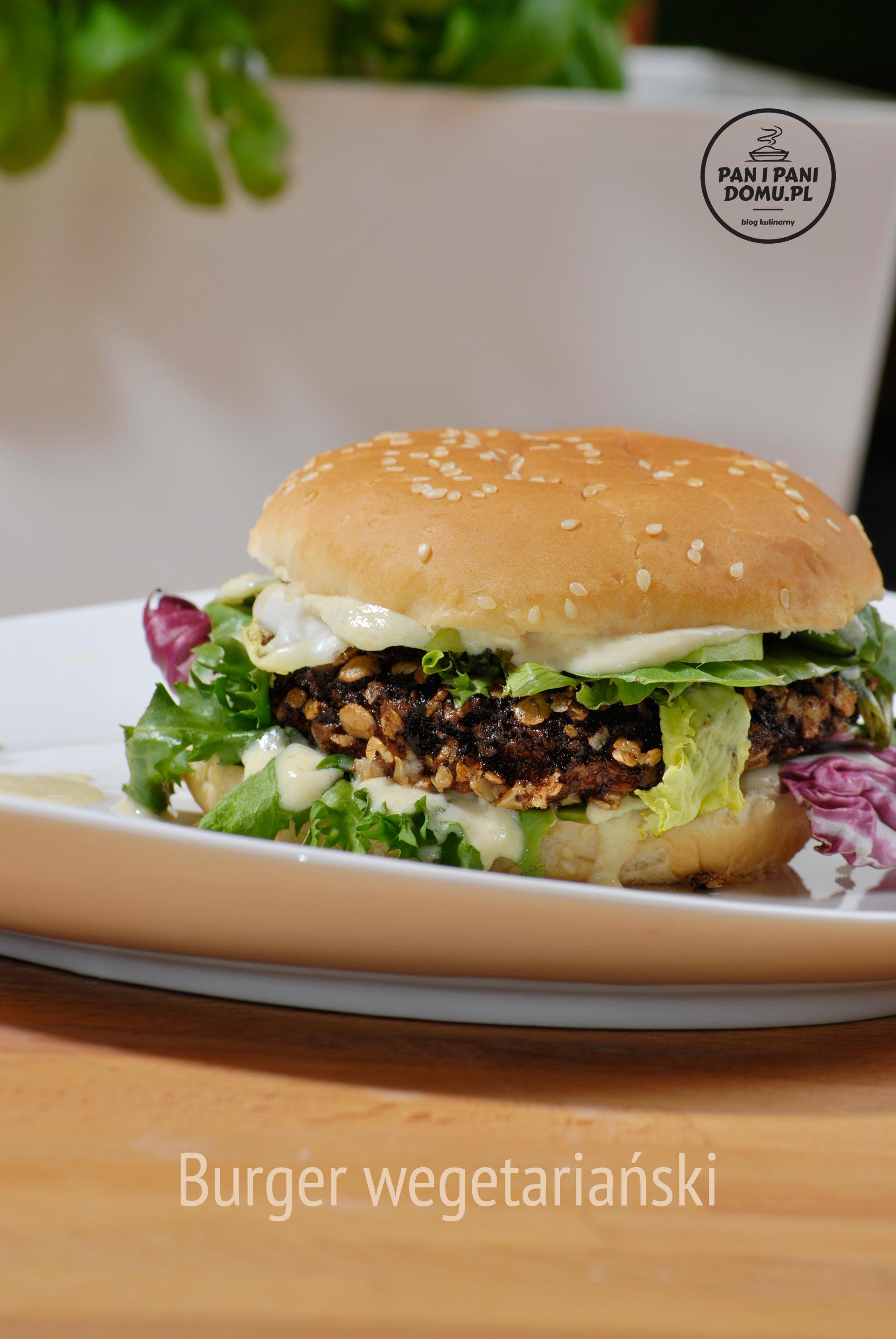 burger wegetariański przepis