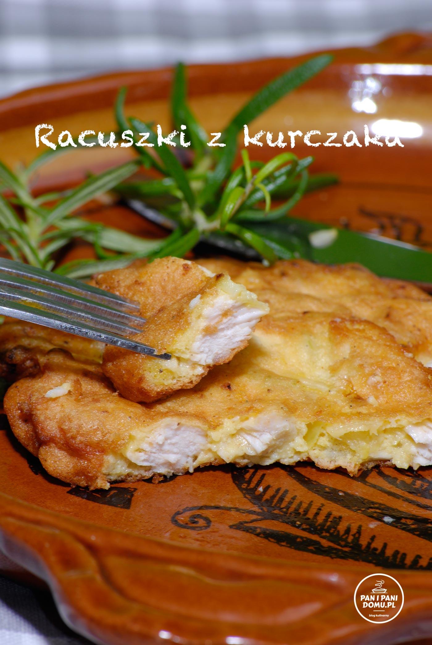 racuszki z kurczaka