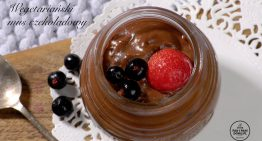 Wegetariański mus czekoladowy