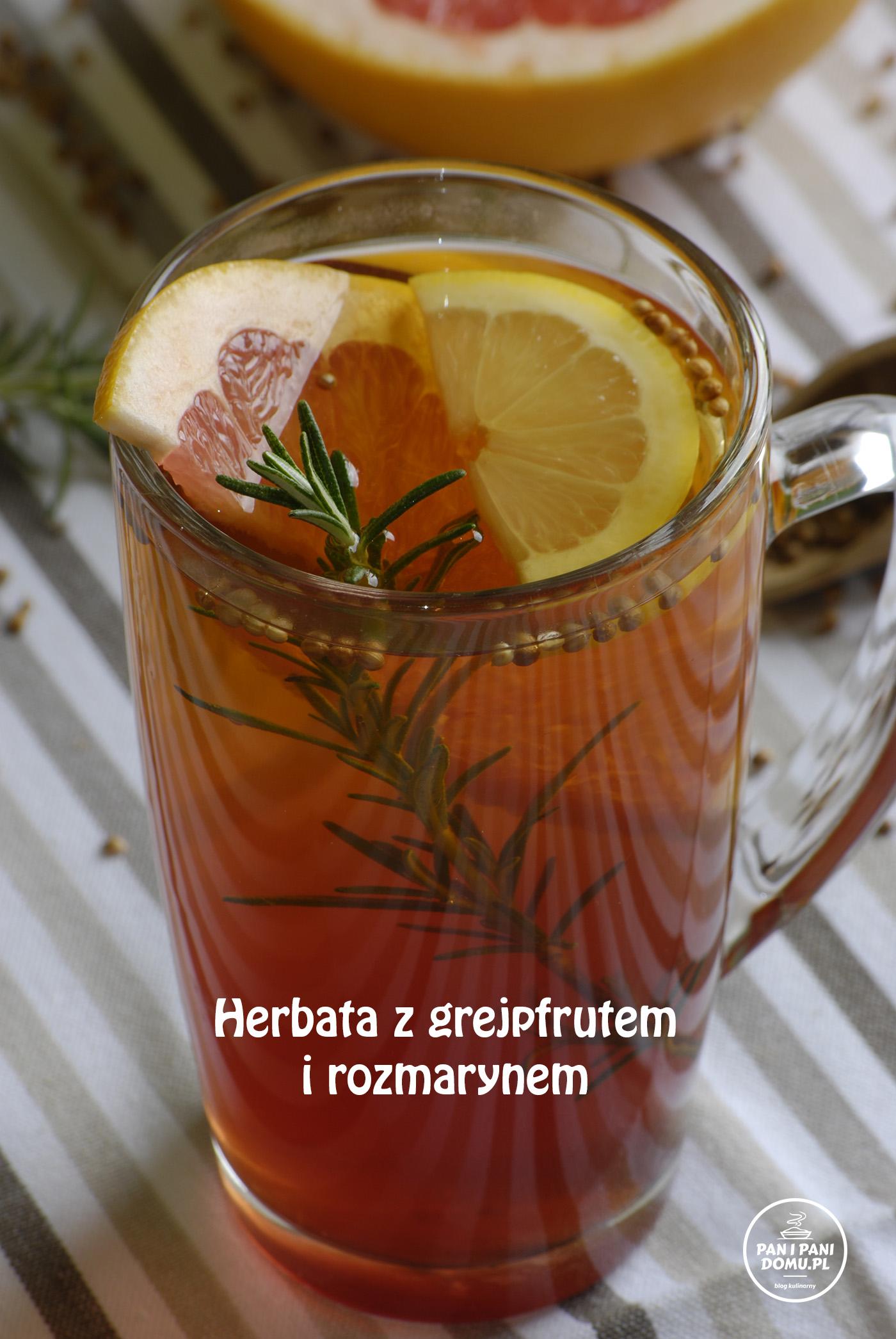 herbata z grejpfrutem