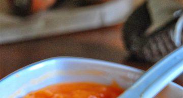 Papka marchewkowa dla dzieci (po 4 m. ż.)